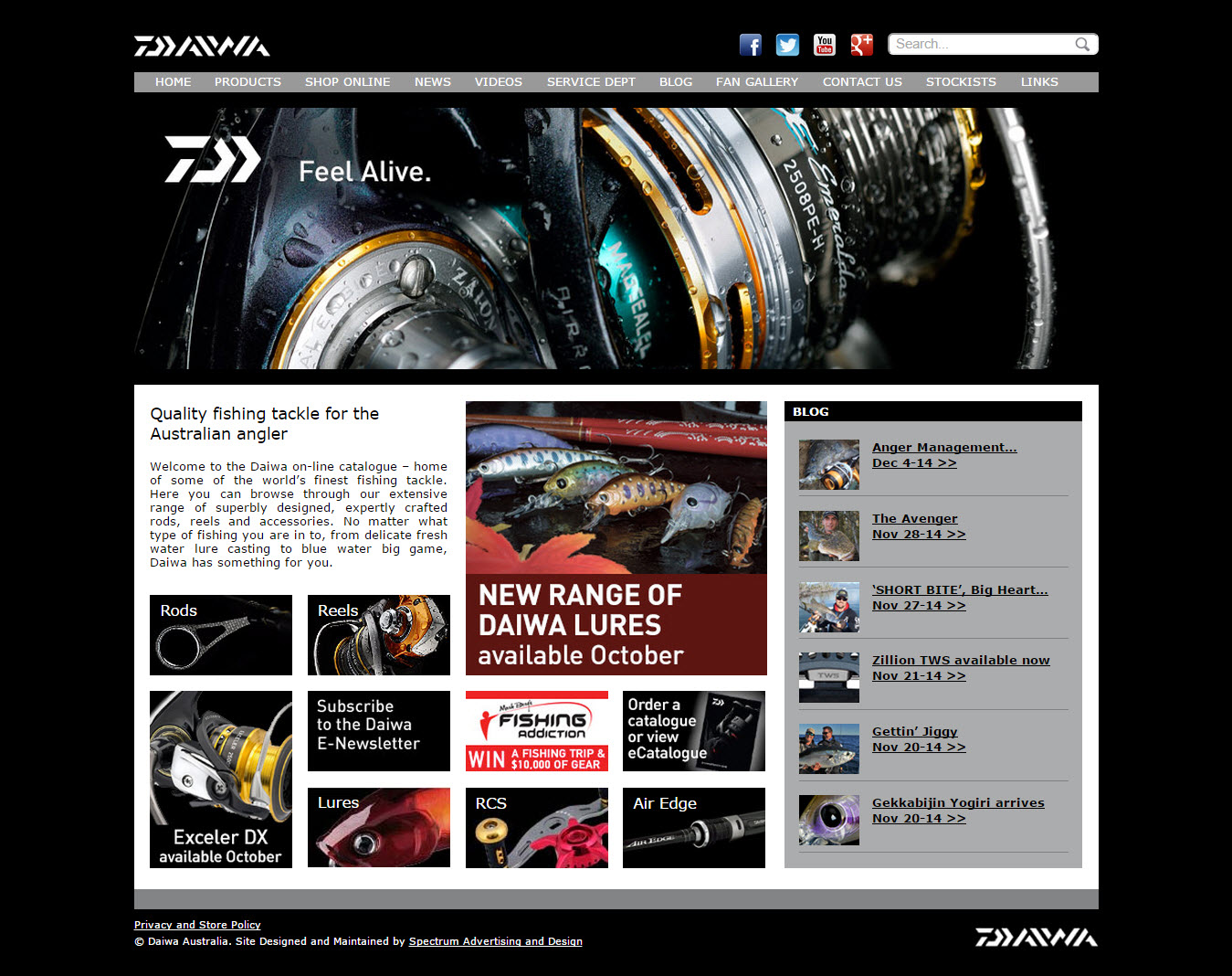 Daiwa Australia runs on Company Juice