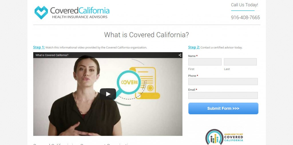 Covered California Health Insurance Advisors run on Company Juice
