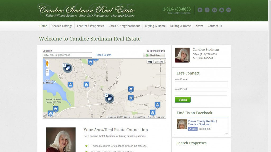 Candice Stedman, Real Estate Agent